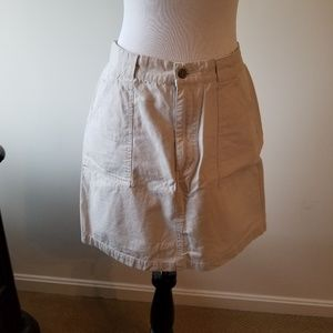 Faded Glory Khaki Skirt Size 10
